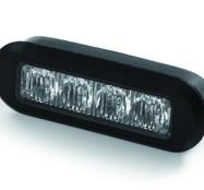 E-märkt 9w  LED Blixtljus H4S1 med ECE R65 & ECE R10 Orange Sken 10-30V