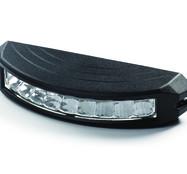 E-märkt 13w LED-Blixtljus C9 med ECE-R65 och ECE-R10 Orange Sken 10-30V